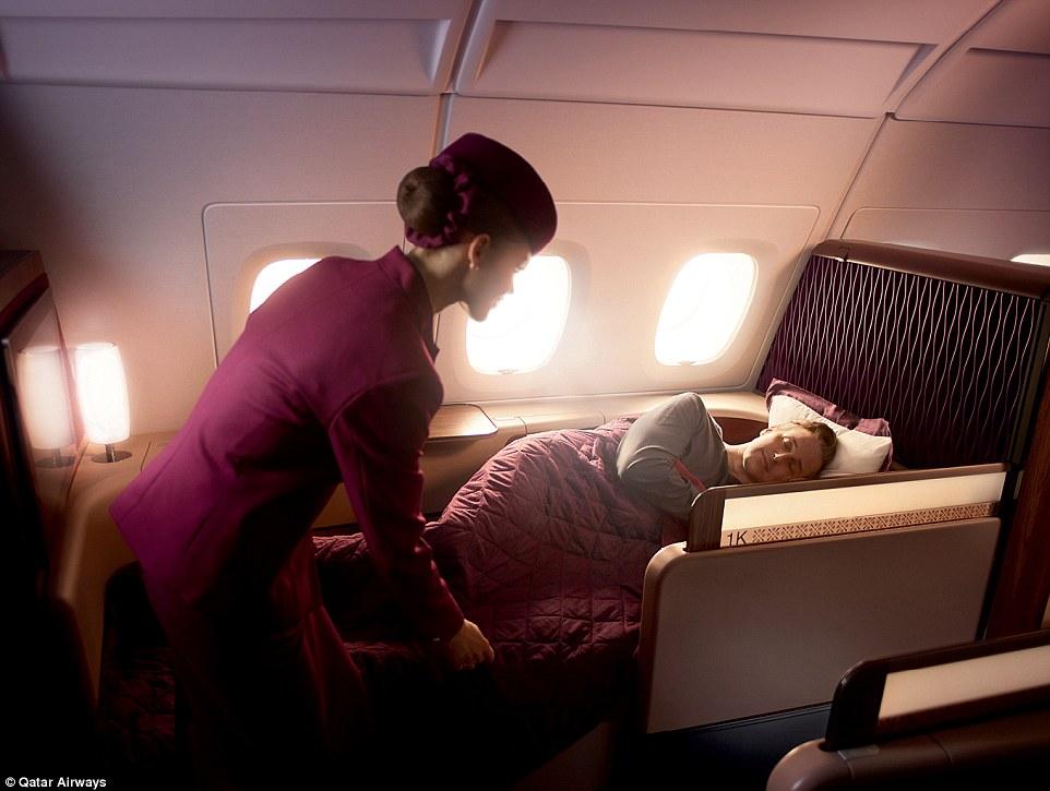 Comfortable Rest On Qatar Airways