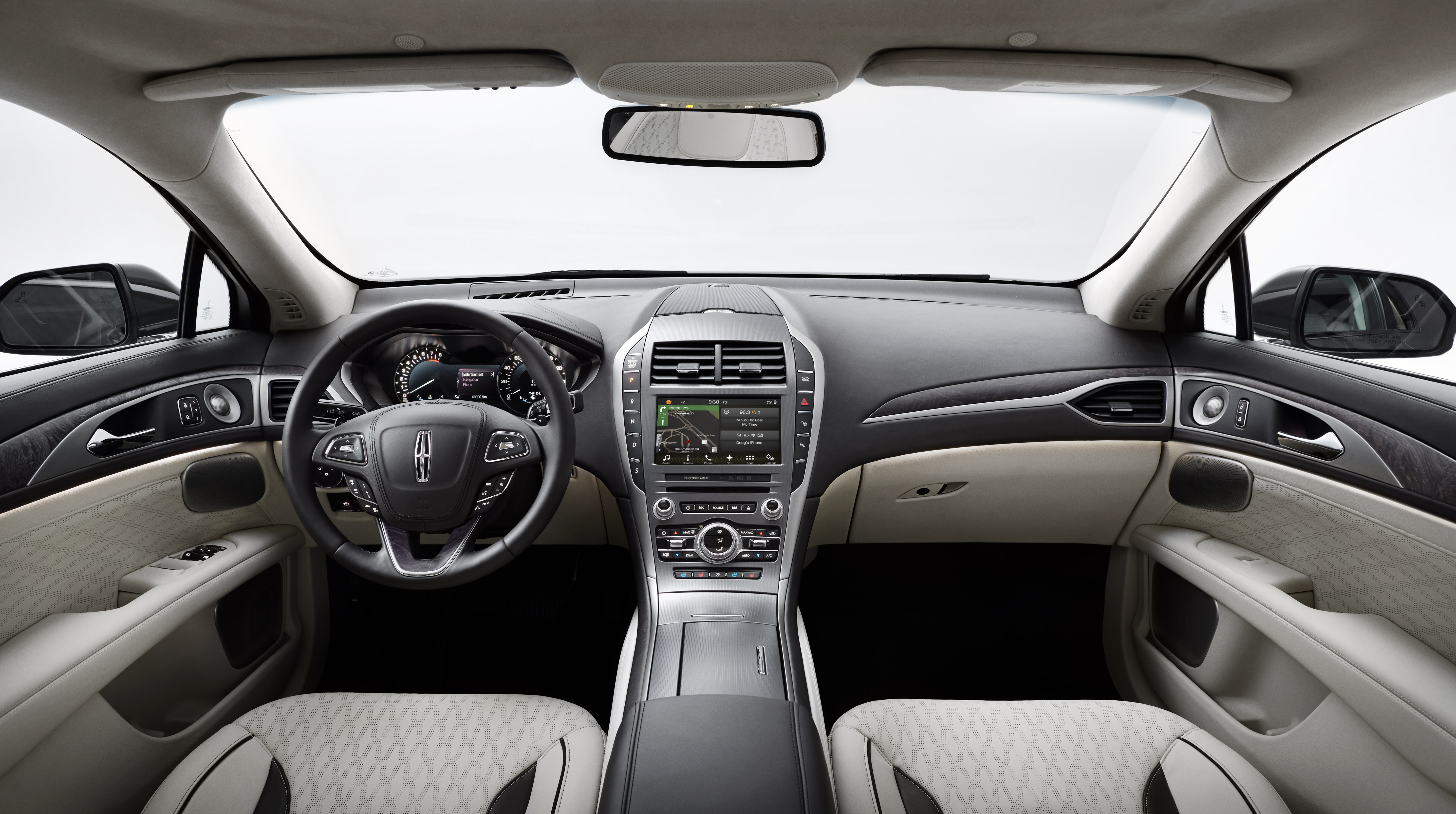 Intuitive driving technologies include available adaptive cruise control with stop-and-go, auto hold, pre-c assist with pedestrian detection, and enhanced park assist make the new Lincoln MKZ driving experience smoother.
