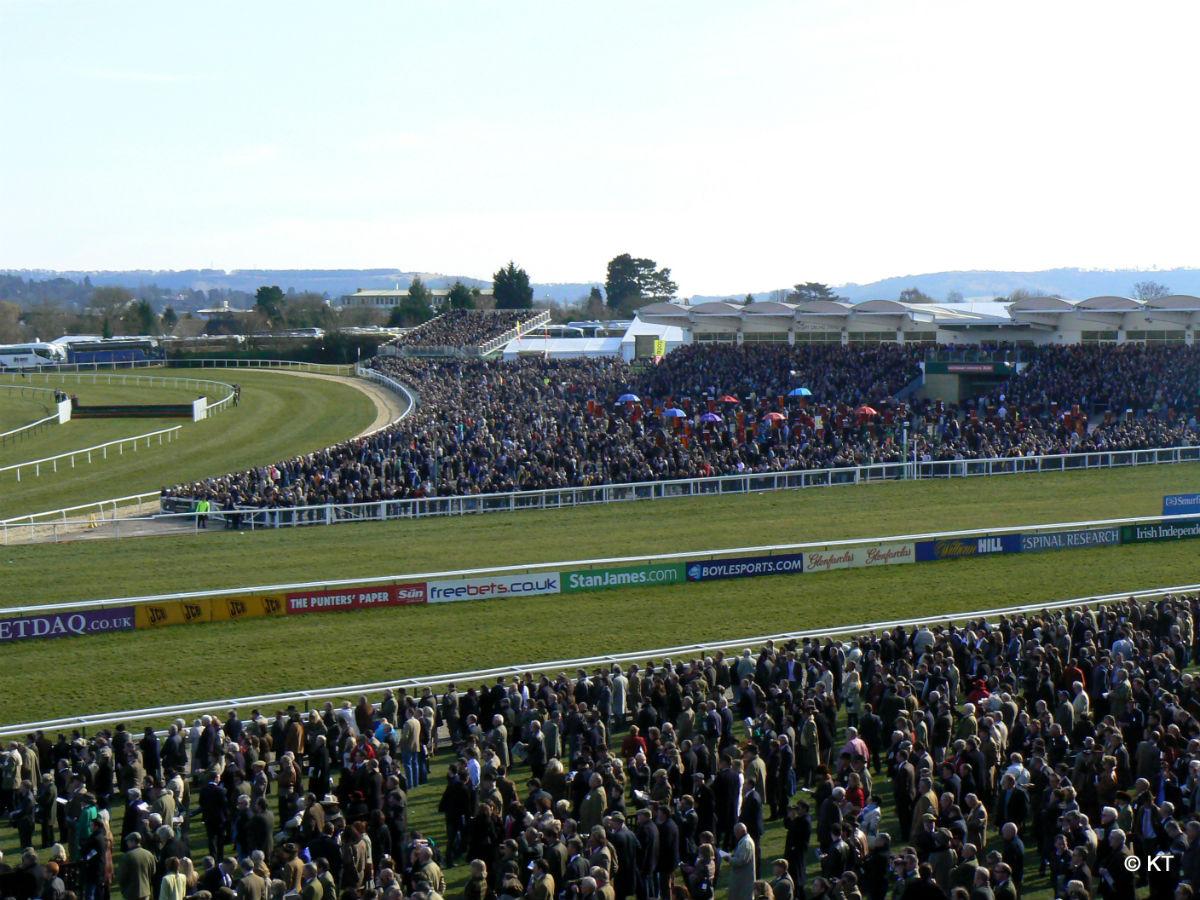 Horse races.sporting event in cheltenham