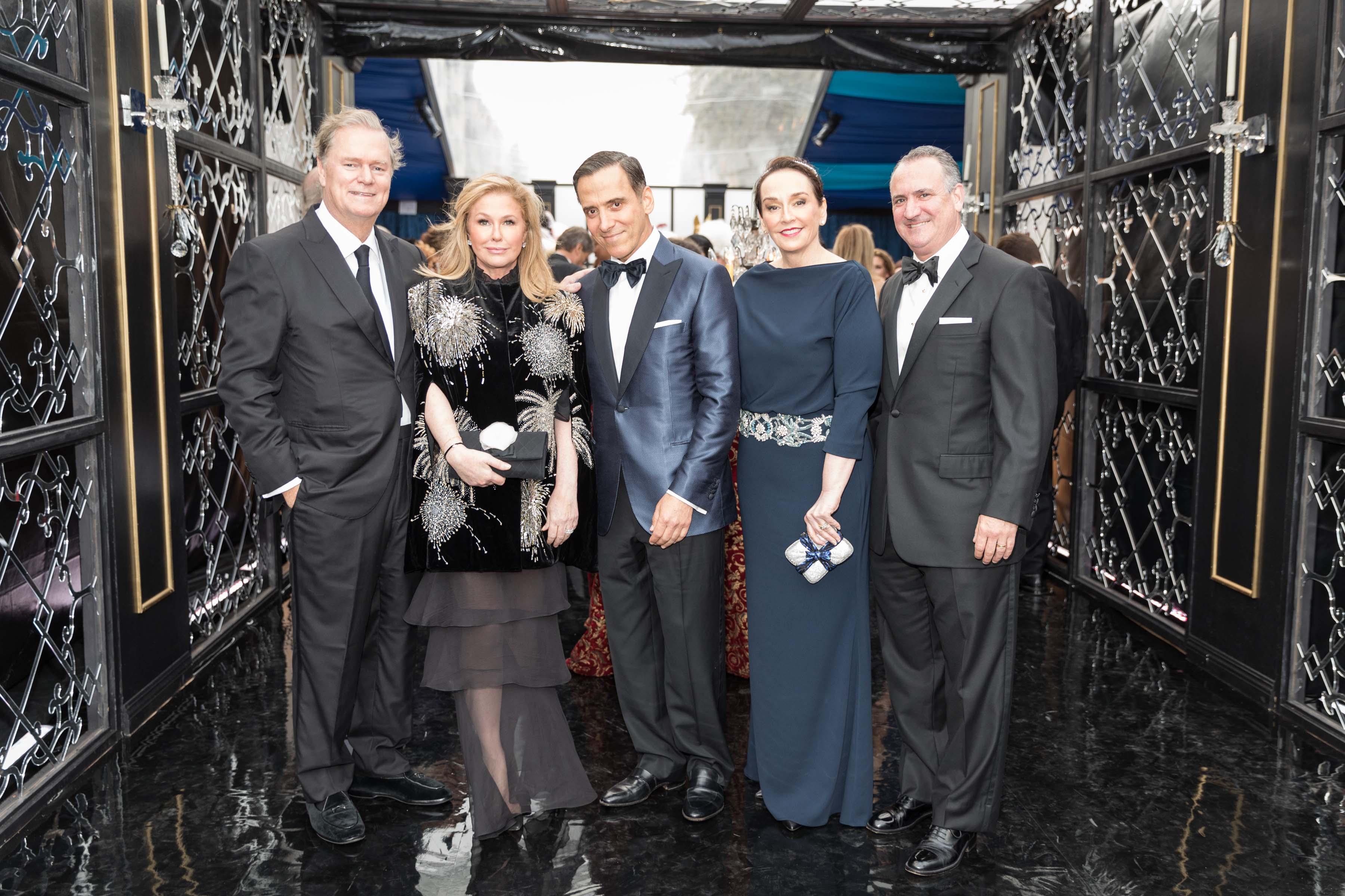 Richard Hilton, Kathy Hilton, Alan Malouf, Elisa Stephens, Ed Conlon