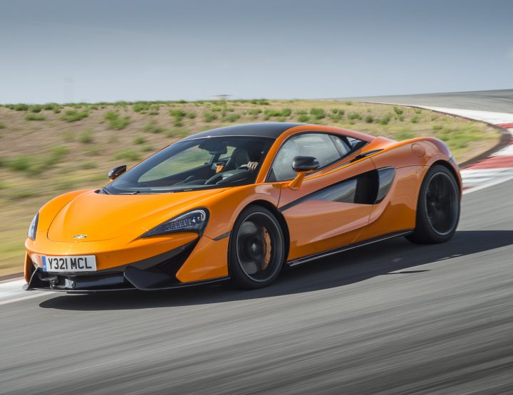 BLINK AND YOU'LL MISS IT: THE MCLAREN 570S COUPE.