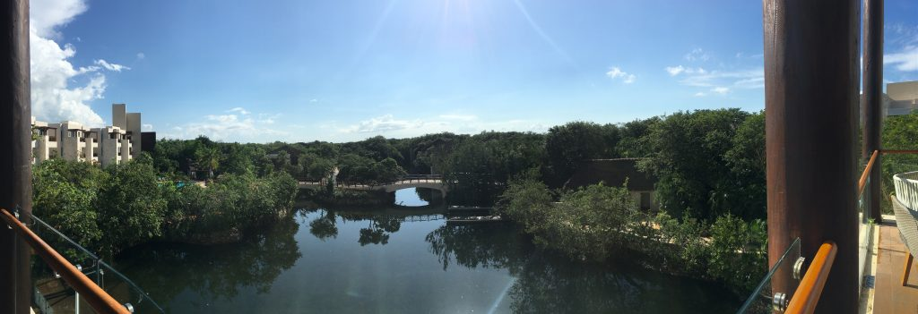 View of the Fairmont Mayakoba