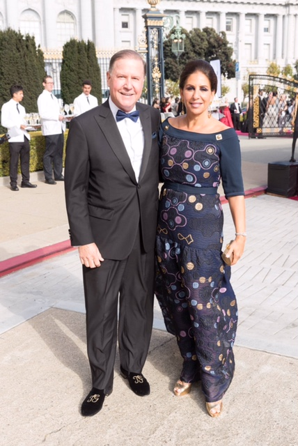 SAN FRANCISCO, CA - September 9 - John Grotts and Lisa Grotts attend Opera Ball 2016: La Revolution et L'Amour September 9th 2016 at War Memorial Opera House in San Francisco, CA (Photo - Drew Altizer Photography)