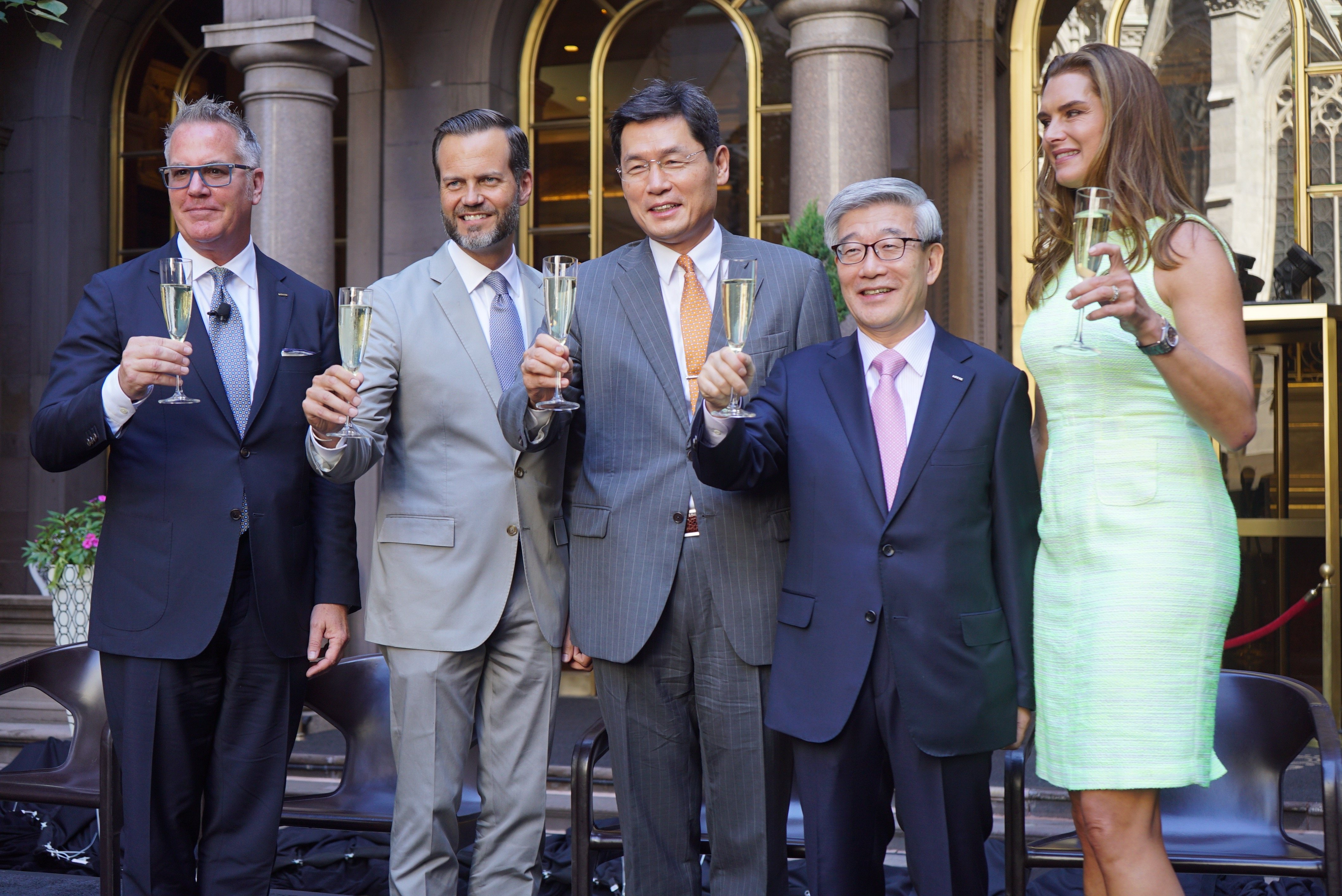 Unveiling Ceremony of the Lotte New York Palace Hotel