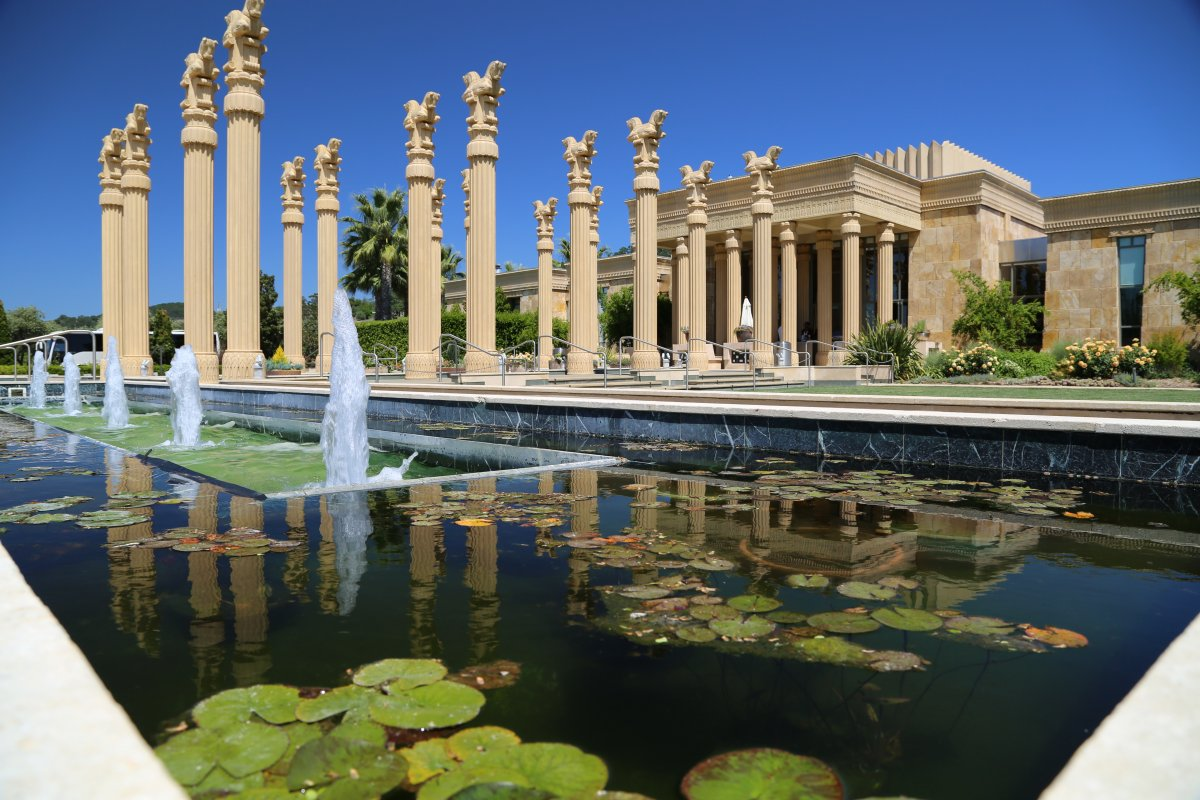 The magnificence that is Darioush Winery.