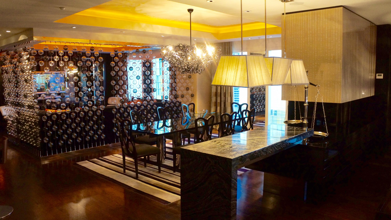 Emperor Suite Dining Area