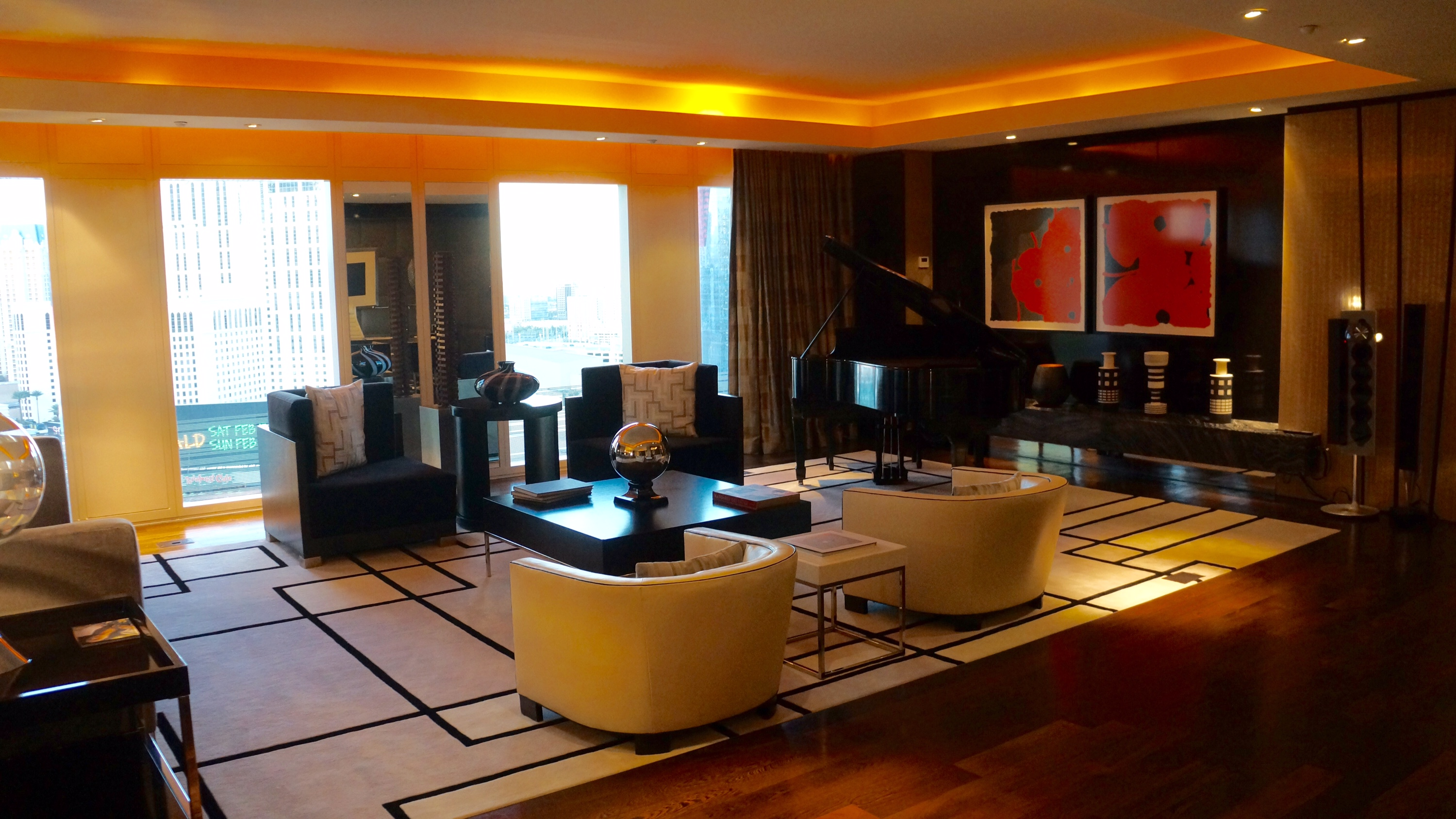 Emperor Suite, Late Afternoon
