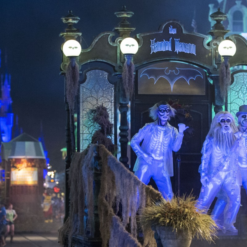 AN INSIDER'S GUIDE TO MICKEY MOUSE'S NOT SO SCARY HALLOWEEN PARTY.