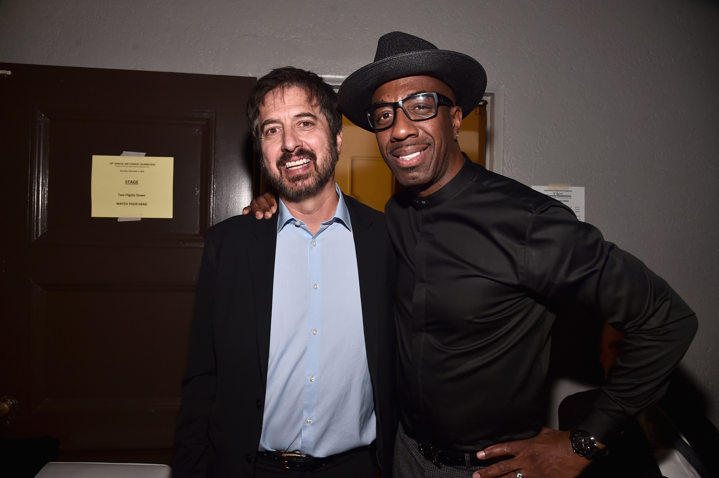 LOS ANGELES, CA - NOVEMBER 05: Host Ray Romano and comedian JB Smoove attends the International Myeloma Foundation 10th Annual Comedy Celebration at the Wilshire Ebell Theatre on November 5, 2016 in Los Angeles, California. (Photo by Alberto E. Rodriguez/Getty Images for International Myeloma Foundation )