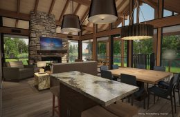 Copper Creek Villa Interior Rendering