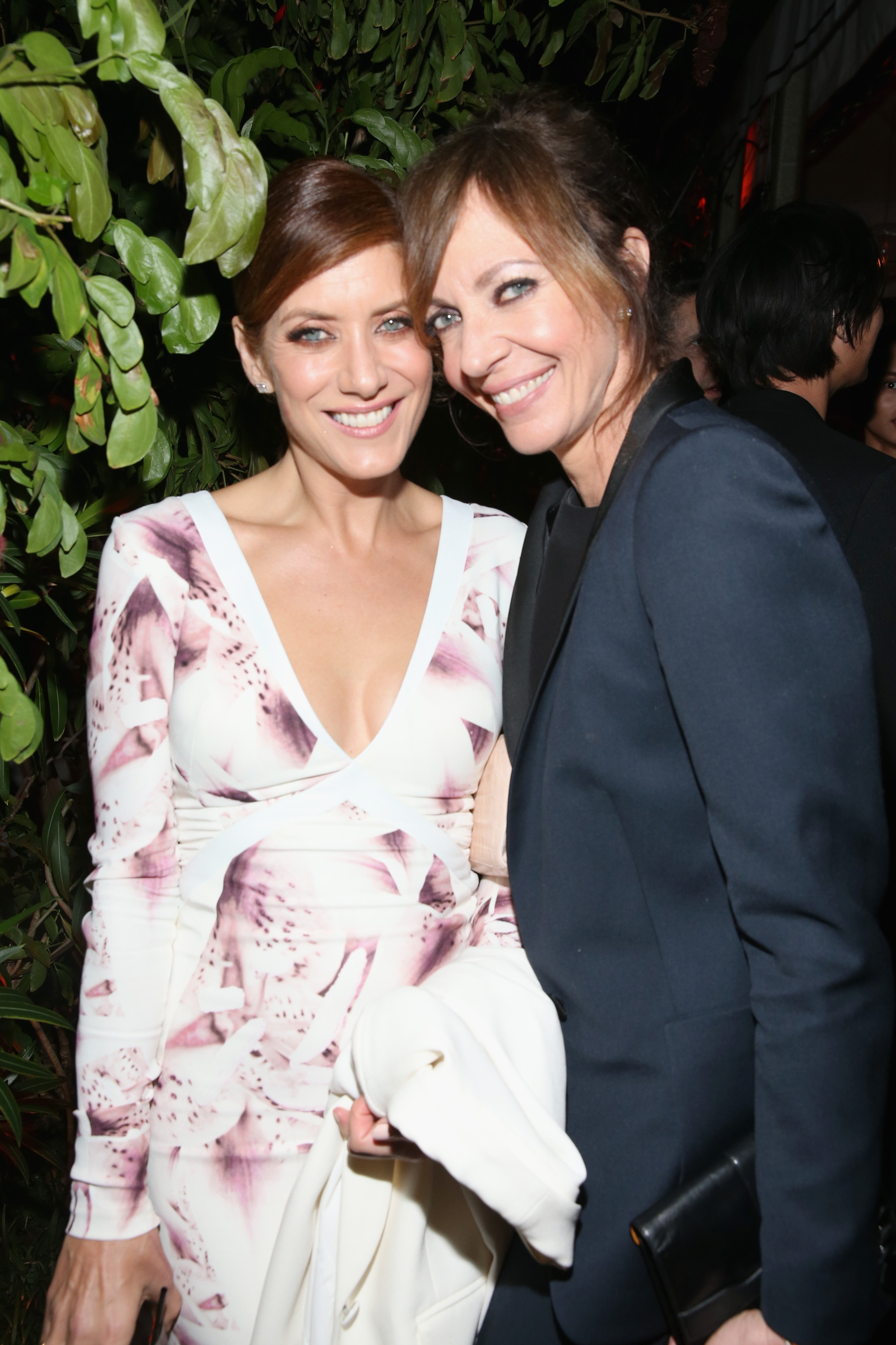 LOS ANGELES, CA - FEBRUARY 25: Actors Kate Walsh (L) and Allison Janney attend the Cadillac Oscars Week Celebration at Chateau Marmont on February 25, 2016 in Los Angeles, California. (Photo by Jonathan Leibson/Getty Images for Cadillac)