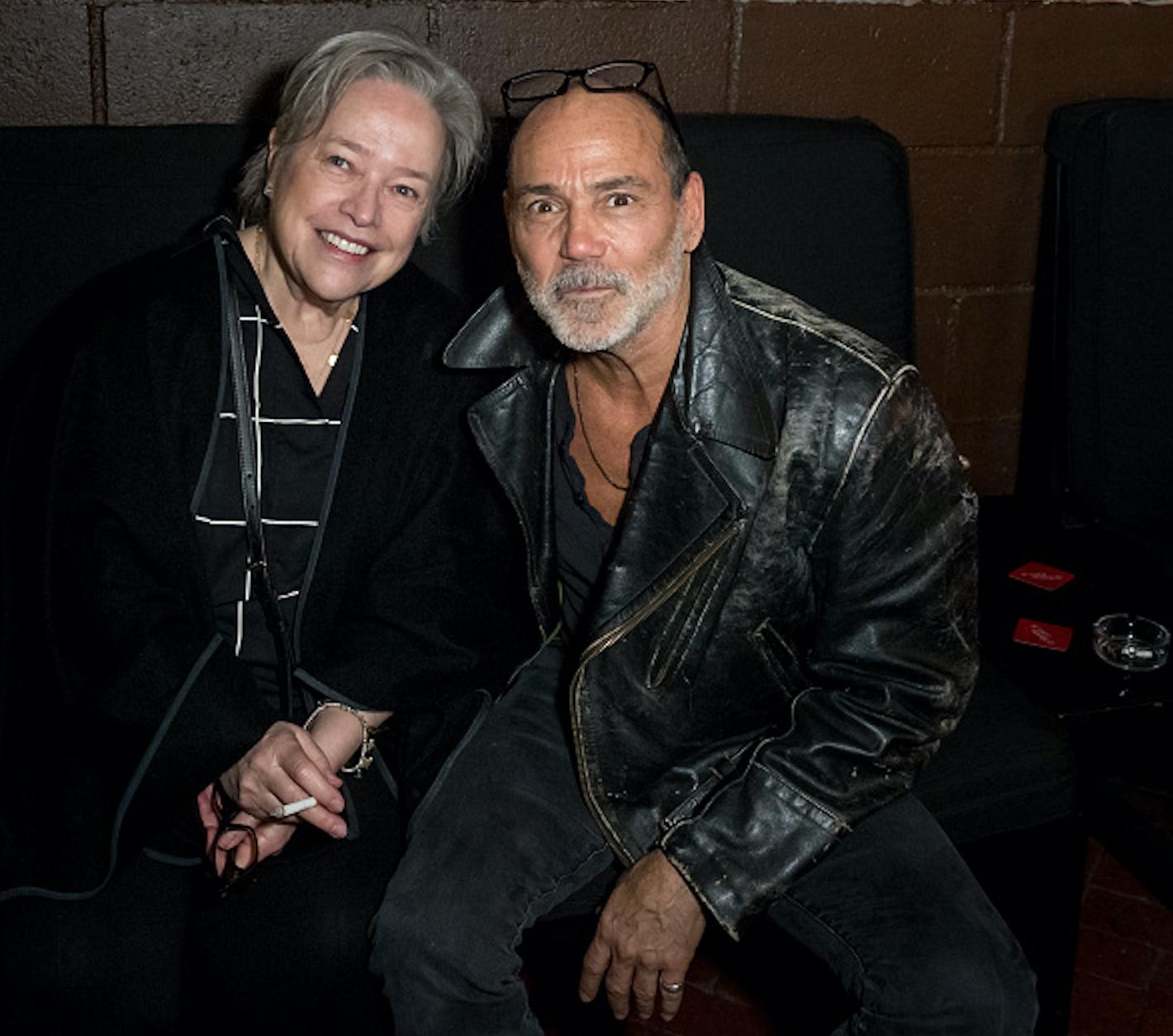 Kathy Bates & Timothy White.