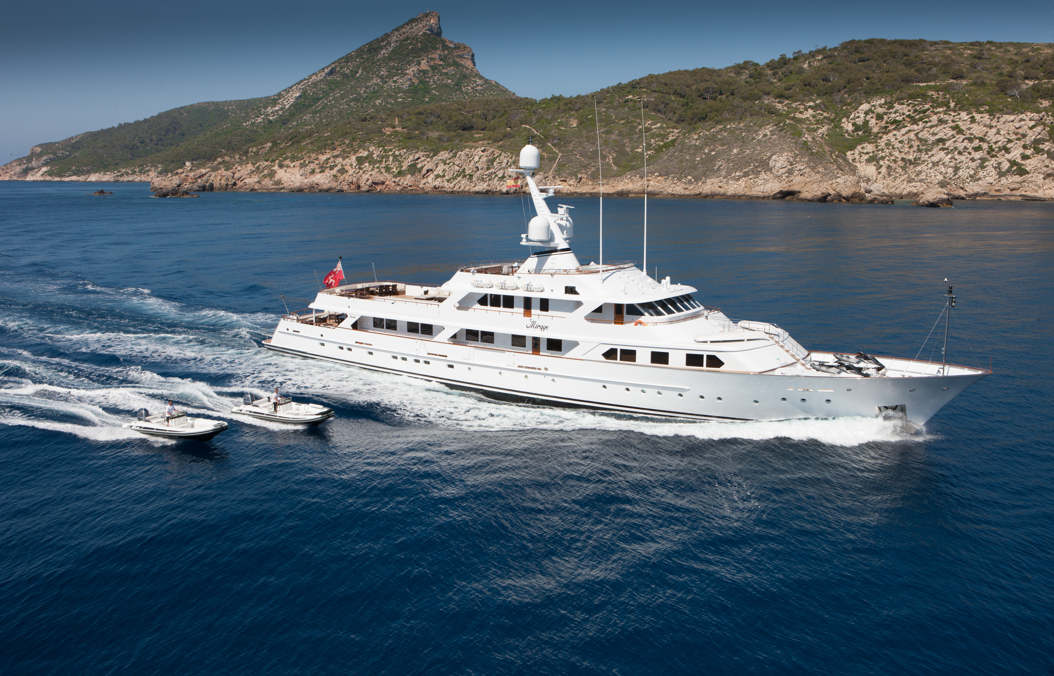 Mirage, Exterior, Winner best Refitted Yacht Of The Year