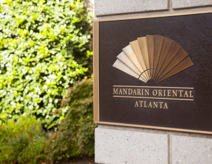 REST AND RELAXATION AT THE MANDARIN ORIENTAL ATLANTA.