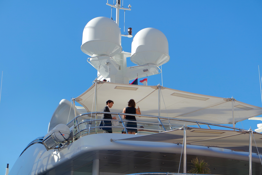 Business at Fort Lauderdale Yacht Show 2015