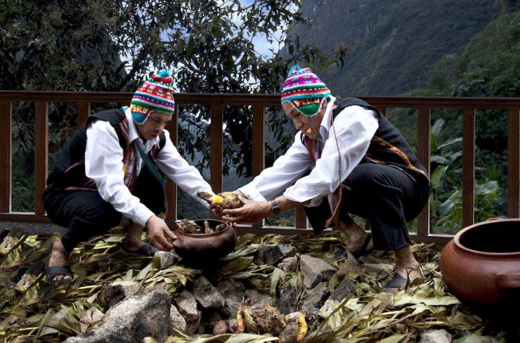 Pachamanca cooking class