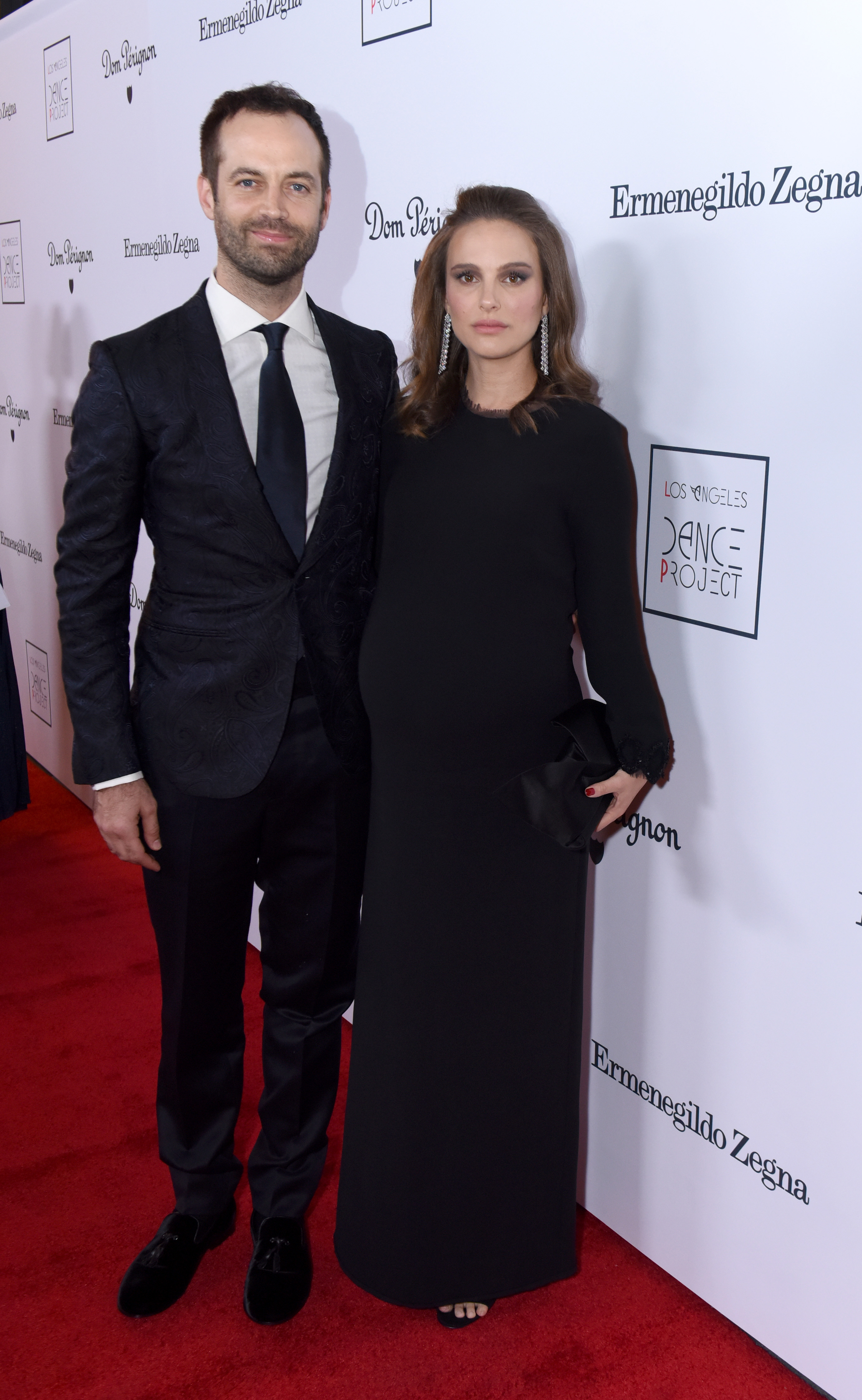 LOS ANGELES, CA - DECEMBER 10: Dancer and choreographer Benjamin Millepied and actress Natalie Portman attend the 2016 Los Angeles Dance Project Gala at The Theatre at Ace Hotel Downtown LA on December 10, 2016 in Los Angeles, California. (Photo by Vivien Killilea/Getty Images for L.A. Dance Project)