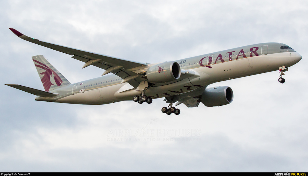 Qatar Airbus A-350
