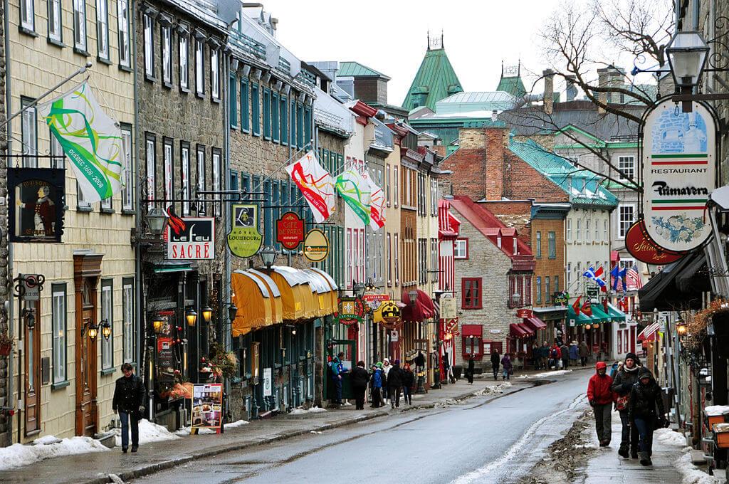 Historic Quebec City, Canada