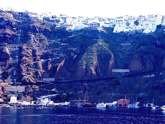 Santorini: Up The Hill