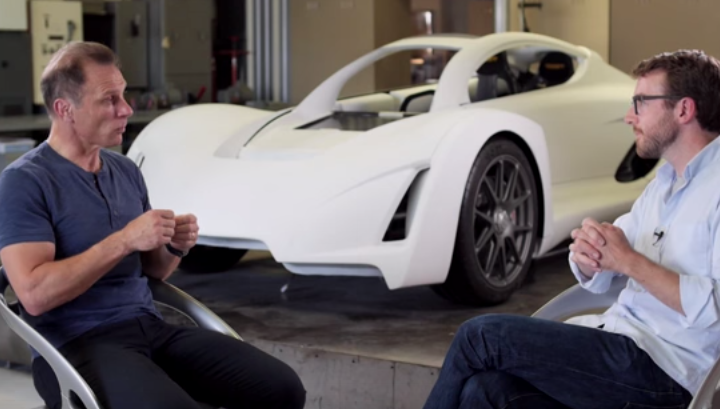 WORLD'S FIRST 3D PRINTED SUPERCAR.