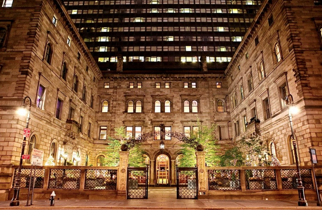 THE LOTTE NEW YORK PALACE HOTEL IS UNVEILED.