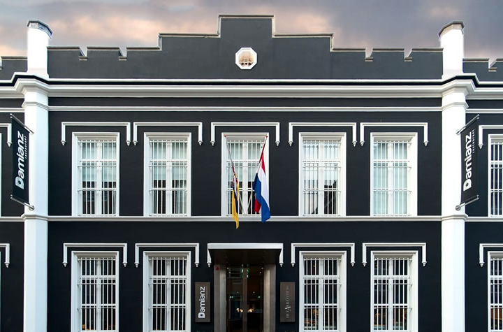 JAIL TURNED INTO A LUXURY HOTEL IN THE NETHERLANDS.