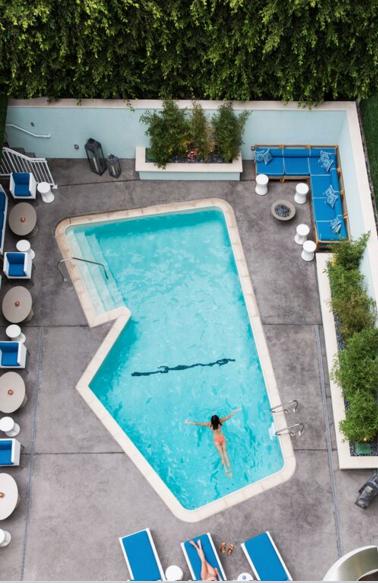 MOSAIC HOTEL: A BOUTIQUE BEVERLY HILLS GEM.