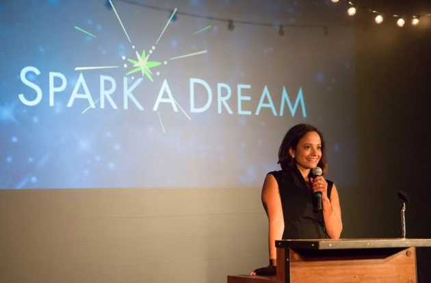 GIVING BACK: JUDY REYES HOSTS SPARK A DREAM GALA BENEFITING UNDERSERVED YOUTH.