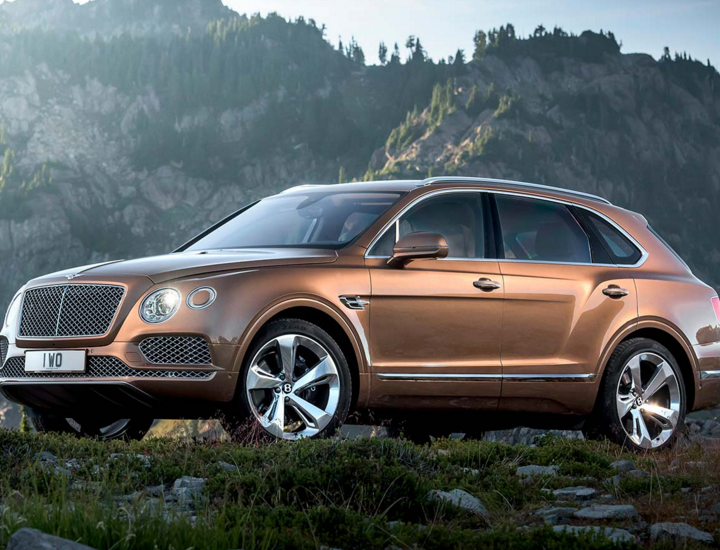 MEET THE FASTEST SUV IN THE WORLD: THE BENTLEY BENTAYGA.