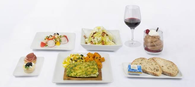 AMERICAN AIRLINES DEBUTS NEW CUISINE FOR LAX/SYDNEY ROUTE.