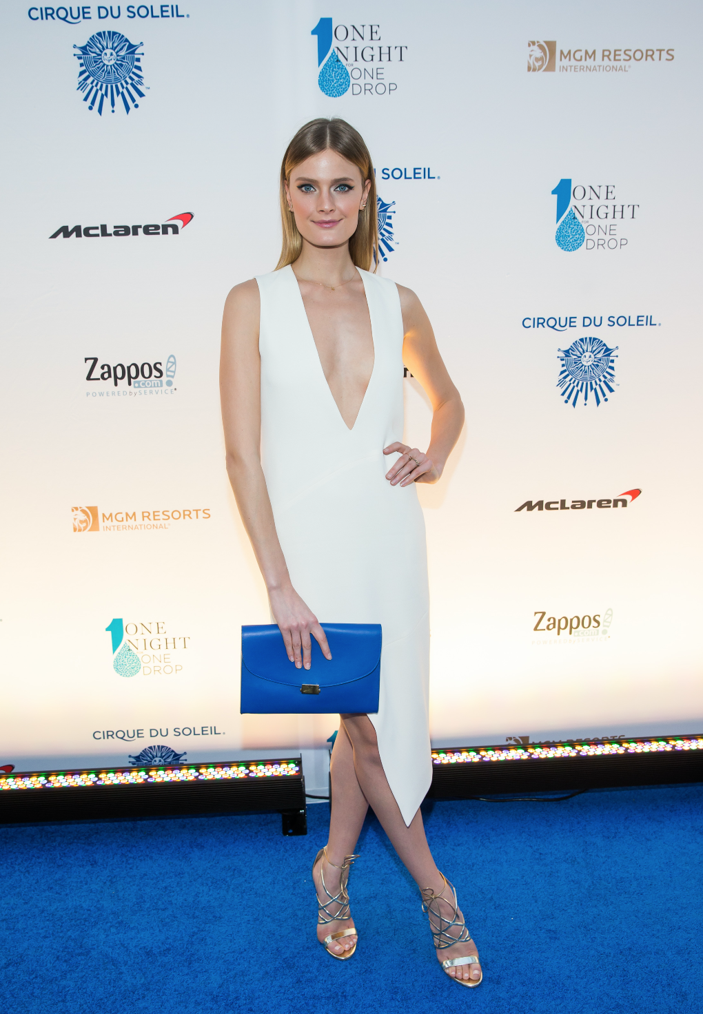 Supermodel Constance Jablonski.