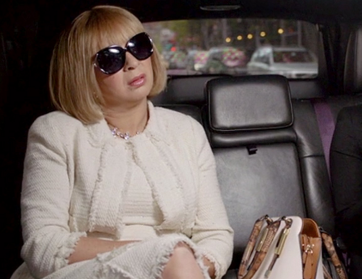 WATCH MAYA RUDOLPH'S HILARIOUS ANNA WINTOUR IMPERSONATION.