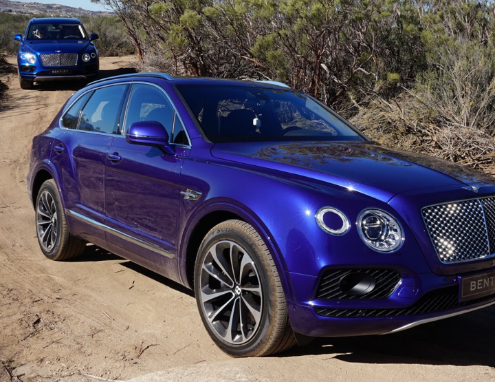 A TEST DRIVE UP THE CALIFORNIA COAST IN THE BENTLEY BENTAYGA.