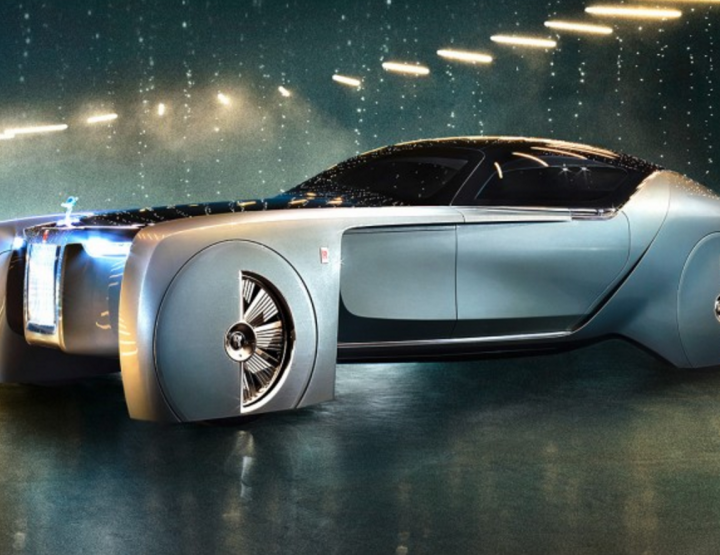 WATCH THE COMMERCIAL: A FUTURISTIC ROLLS ROYCE CONCEPT CAR THAT DOES EVERYTHING YOU CAN EVER ASK FOR.