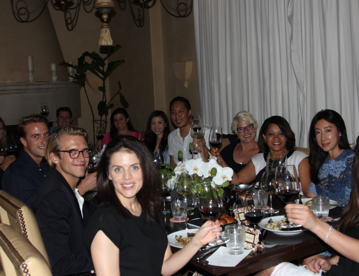 LUXURY COUNCIL HOSTS INFLUENCER DINNER AT GEORGIE.