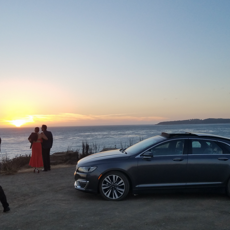 A TRIP UP THE PACIFIC COAST HIGHWAY IN THE LINCOLN MKZ.