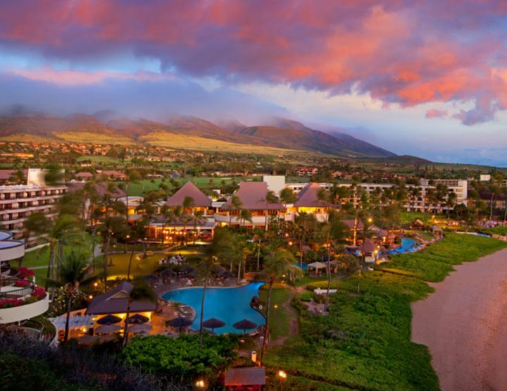 AMIDST THE BLACK ROCK IN MAUI LIES AN ENCHANTING RESORT.