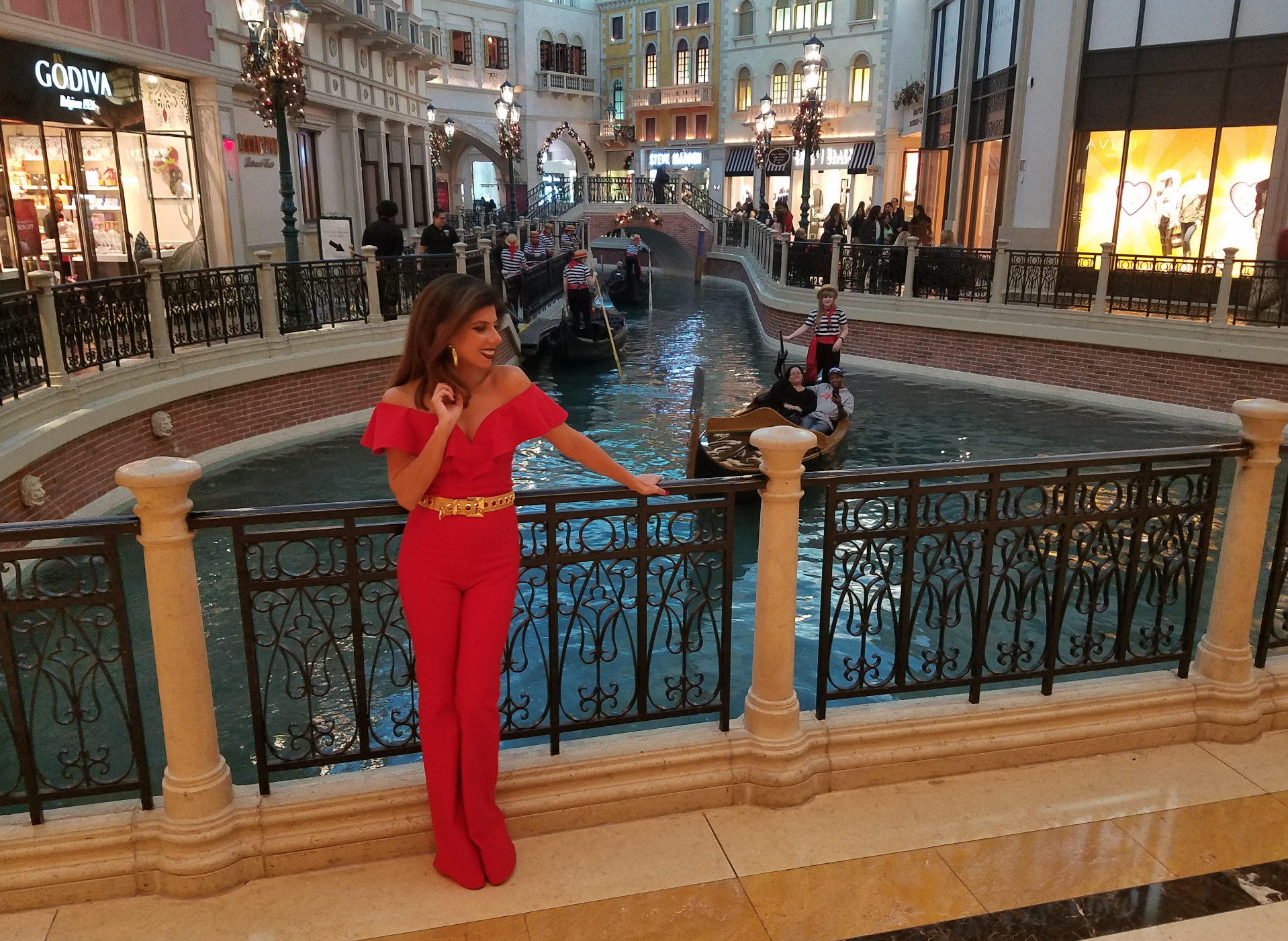 Photoshoot in the Venetian Hotel - Grand Canales.