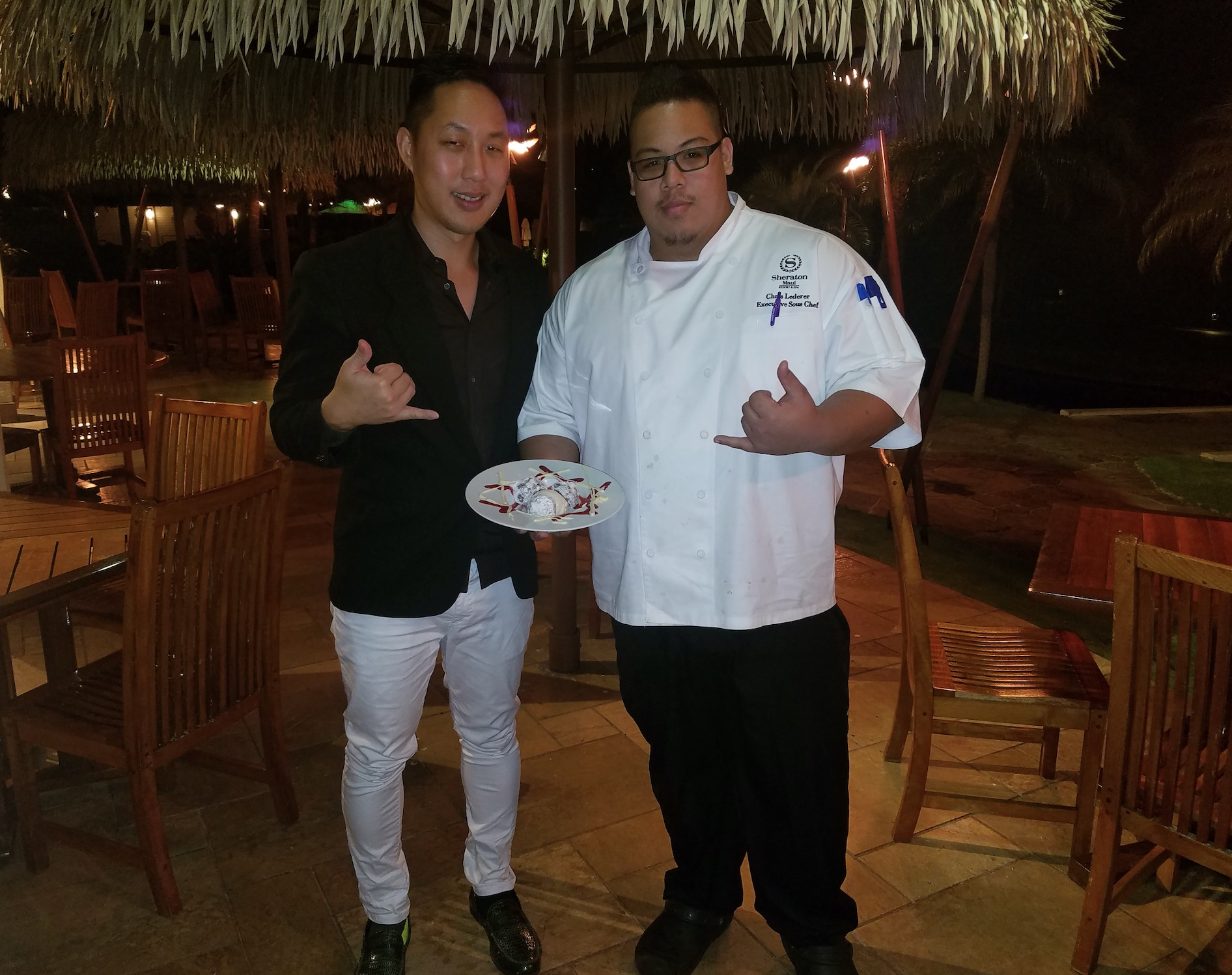David Christopher Lee & Executive Sous Chef Chris Lederer