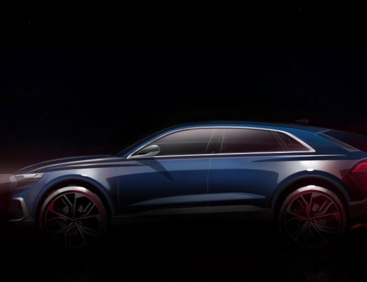 AUDI Q8 CONCEPT CAR TO BE REVEALED AT 2017 NORTH AMERICAN INTERNATIONAL AUTO SHOW.