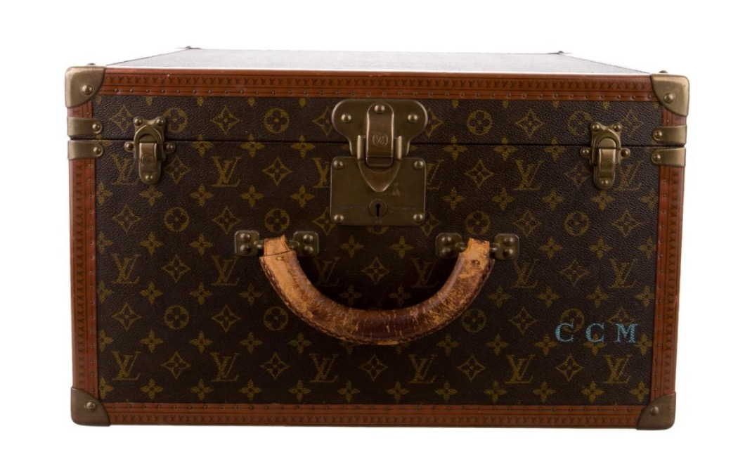 Louis Vuitton Hat Trunk was made by the firm that has been favorite for luxury trunks for over 150 years.