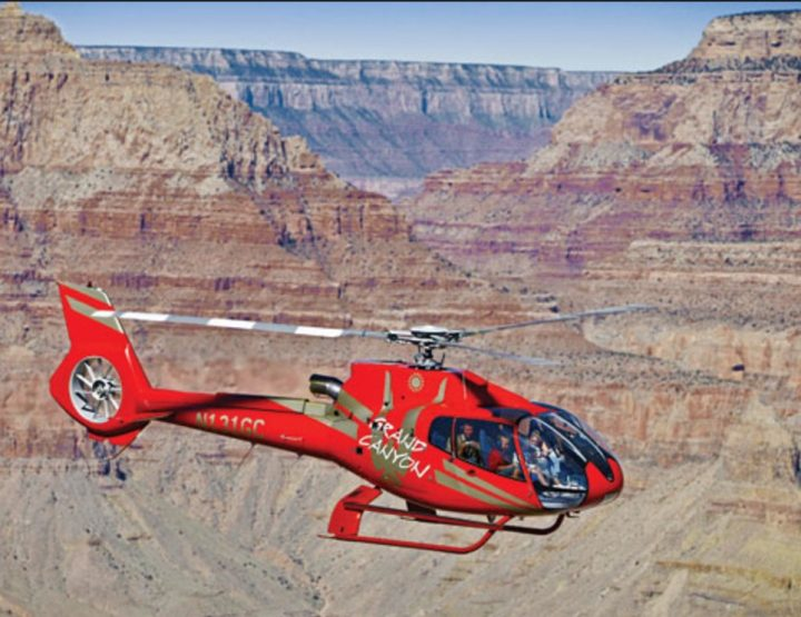 PAPILLON HELICOPTER TOURS, THE GRAND CANYON.