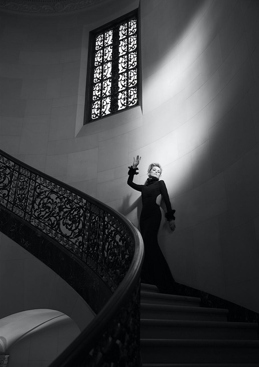 Sharon Stone. photo by Timothy White.