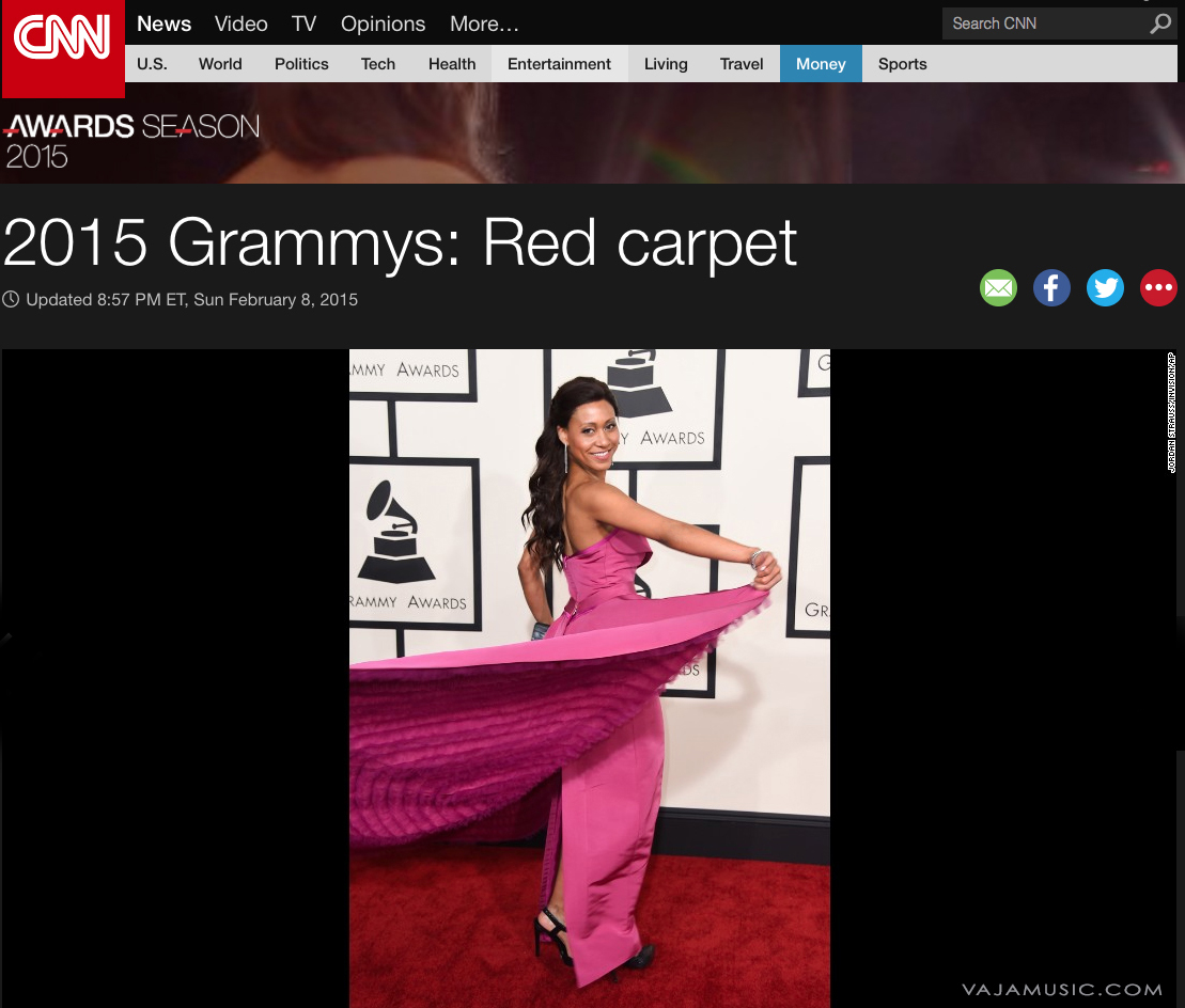 Vaja attends the 2015 Grammy Awards