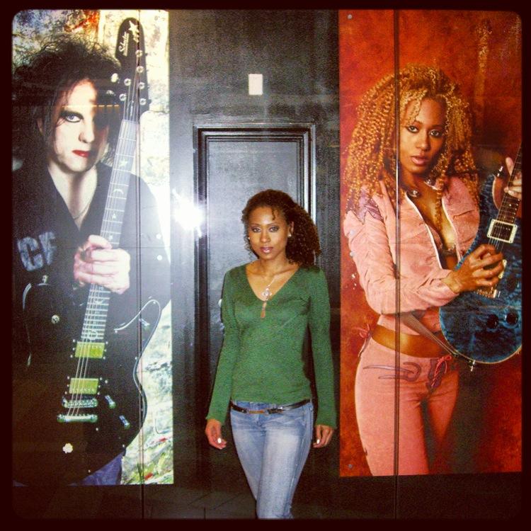 Vaja & Her Guitar Center Poster
