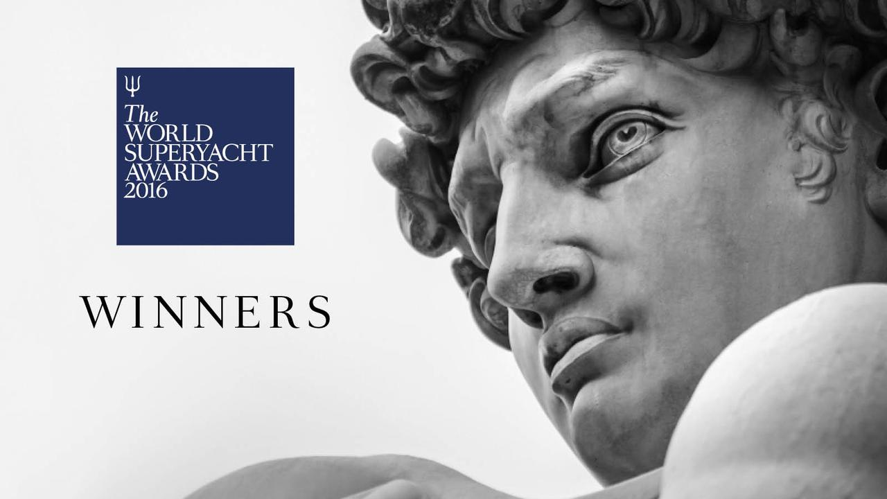 In Florence, The World Superyacht awards