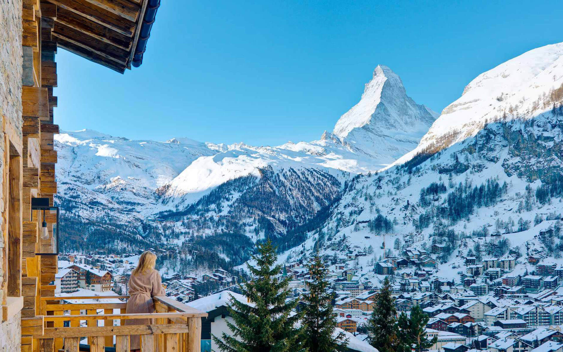 Zermatt is made for late season such as spring skiing with its high altitude that boasts the highest runs in the Alps at above 3,000 metres.