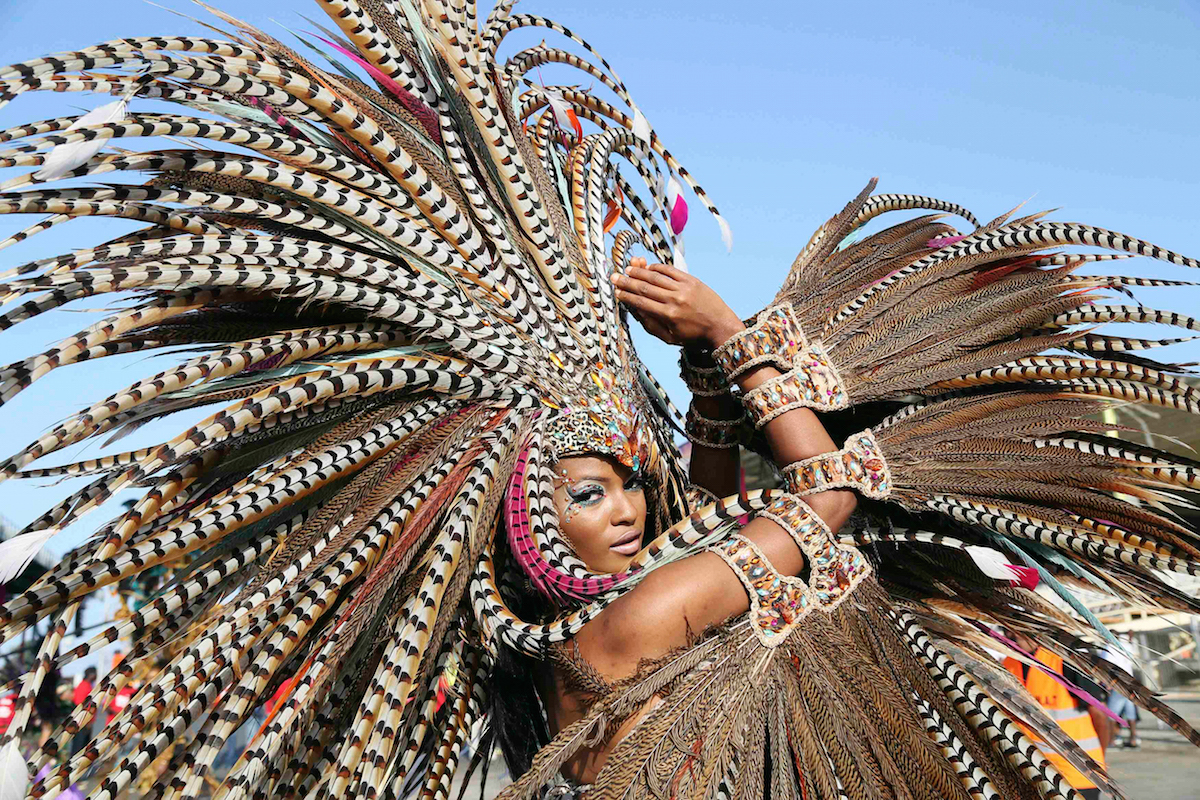 The Incredible Street Carnivals in Trinidad & Tobego. Joint No. 5 in the Top 5 Out of the Ordinary Caribbean yacht charter attractions. What are the other four?