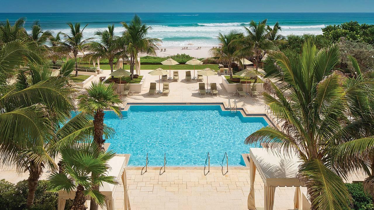 FOUR SEASONS IN PALM BEACH, FLORIDA.